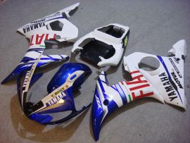 Yamaha YZF-R6 2003-2004 Injection ABS Fairing - FIAT - Blue/White