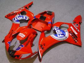Yamaha YZF-R6 2003-2004 Injection ABS Fairing - FIAT - Red