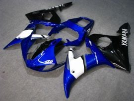 Yamaha YZF-R6 2003-2004  Injection ABS Fairing - Others - Blue/White/Black