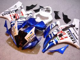 Yamaha YZF-R6 2006-2007 Injection ABS Fairing - FIAT - White/Blue
