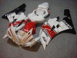 Yamaha YZF-R6 2006-2007 Injection ABS Fairing - Motul - White/Black/Red