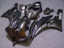 Yamaha YZF-R6 2006-2007 Injection ABS Fairing - Others - Gray/Black