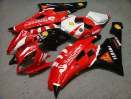 Yamaha YZF-R6 2006-2007 Injection ABS Fairing - Santander - Red/Black/White