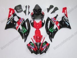 Yamaha YZF-R6 2006-2007 Injection ABS Fairing - Monster - Red/Black