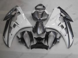 Yamaha YZF-R6 2006-2007 Injection ABS Fairing - Others - Gray/Black/White