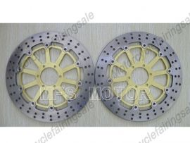 Ducati 996 S4R ST4S 996CC Front Floating Disc Brake Rotor - Golden