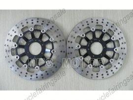 Honda CBR250RR MC22 NSR250R MC18 MC21 MC28 Front Floating Disc Brake Rotor - Black