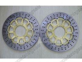 Honda CBR900RR 929 2000-2001 954 2002-2003 Front Brake Disc Rotor - Golden