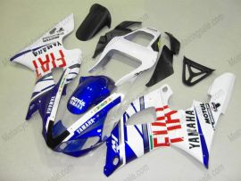 Yamaha YZF-R1 2000-2001 Injection ABS Fairing - FIAT - White/Blue