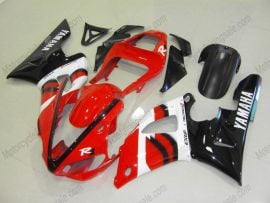 Yamaha YZF-R1 2000-2001 Injection ABS Fairing - Others - Red/Black/White