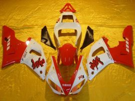 Yamaha YZF-R1 2000-2001 Injection ABS Fairing - Others - Red/White