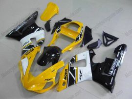 Yamaha YZF-R1 2000-2001 Injection ABS Fairing - Others - Yellow/Black/White