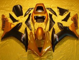 Yamaha YZF-R1 2002-2003 Injection ABS Fairing - Others - Black/Gold