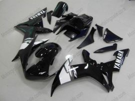 Yamaha YZF-R1 2002-2003 Injection ABS Race Fairing - Others - Black/White