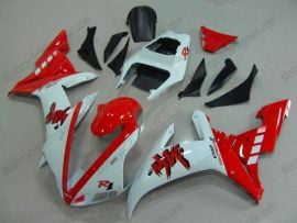 Yamaha YZF-R1 2002-2003 Injection ABS Fairing - Others - White/Red
