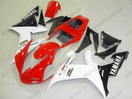 Yamaha YZF-R1 2002-2003 Injection ABS Fairing - Others - White/Red/Black