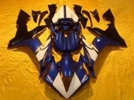 Yamaha YZF-R1 2004-2006 Injection ABS Race Fairing - Others - Blue/White