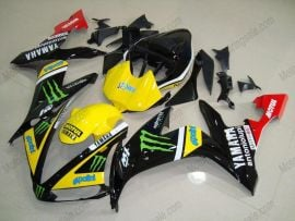 Yamaha YZF-R1 2004-2006 Injection ABS Fairing - Monster - Black/Yellow