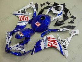 Yamaha YZF-R1 2007-2008 Injection ABS Fairing - FIAT - Blue/White
