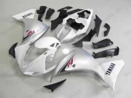 Yamaha YZF-R1 2009-2011 Injection ABS Fairing - Others - White/Silver
