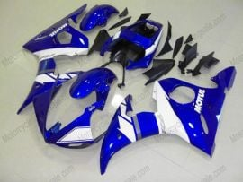 Yamaha YZF-R6 2005 Injection ABS Fairing - Others - Blue/White
