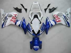 Yamaha YZF-R6 2005 Injection ABS Fairing - FIAT - Blue/White