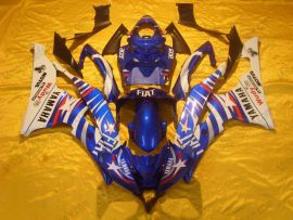 Yamaha YZF-R6 2006-2007 Injection ABS Fairing - FIAT - Blue/White