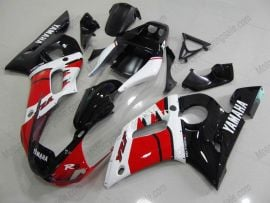 Yamaha YZF-R6 1998-2002 Injection ABS Fairing - Others - Black/Red/White