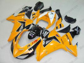 Kawasaki NINJA ZX10R 2006-2007 Injection ABS Fairing - Others - Orange/Black