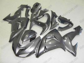 Kawasaki NINJA ZX10R 2006-2007 Injection ABS Fairing - Factory Style - All Gray