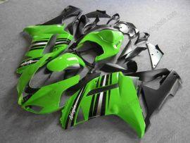 Kawasaki NINJA ZX6R 2007-2008 Injection ABS Fairing - Others - Green/Black