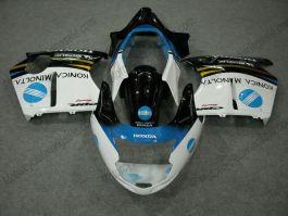 Honda CBR 1100XX BLACKBIRD 1996-2007 Injection ABS Fairing - Konica Minolta - Black/White