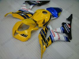 Honda CBR 600RR F5 2007-2008 Injection ABS Fairing - Nastro Azzurro  - Yellow/Black/White