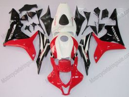 Honda CBR 600RR F5 2007-2008 Injection ABS Fairing - Factory Style  - Black/White/Red