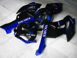 Honda CBR1000RR 2004-2005 Injection ABS Fairing - BACARDI - Black/Blue