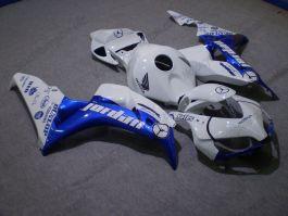 Honda CBR1000RR 2006-2007 Injection ABS Fairing - Jordan - White/Blue