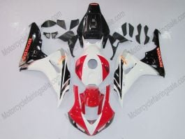 Honda CBR1000RR 2006-2007 Injection ABS Fairing - Others - Black/White/Red