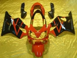 Honda CBR600 F4i 2004-2007 Injection ABS Fairing - Others - Black/Red