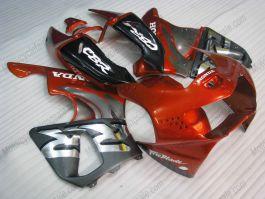Honda CBR900RR 919 1998-1999 ABS Fairing - Fireblade - Orange/Silver