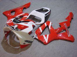 Honda CBR900RR 929 2000-2001 ABS Fairing - Others - Red/White