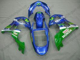 Honda CBR900RR 929 2000-2001 ABS Fairing - Movistar - Blue/Green