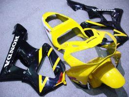 Honda CBR900RR 929 2000-2001 ABS Fairing - Others - Yellow/Black