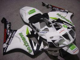 Honda VTR1000 RC51 2000-2006 ABS Fairing - HANN Spree - White/Black